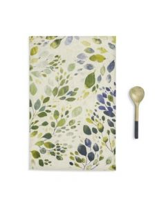 Demdaco Spring Leaves Kitchen Towel & Utensil Set