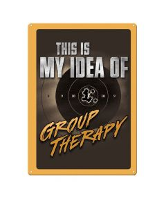 River's Edge Group Therapy Tin Sign