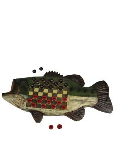 River's Edge Largmouth Bass Checkerboard Set