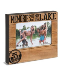Pavilion Memories Are Made At The Lake 4 x 6 Photo Frame