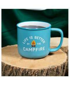 Pavilion Life is Better by the Campfire Stoneware Mug