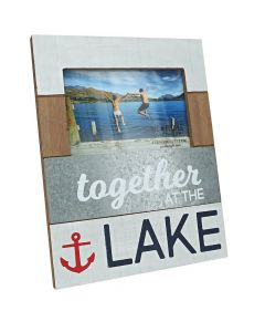 Pavilion Together at the Lake 4 x 6 Photo Frame