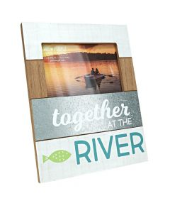 Pavilion Together at the River 4 x 6 Photo Frame