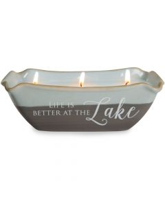 Pavilion Life is Better at the Lake Tranquility Soy Candle