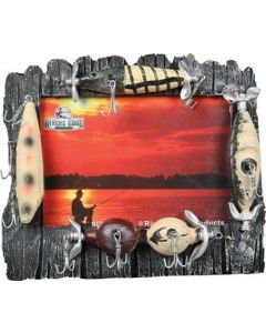 Rivers Edge Lure Picture Frame 4x6
