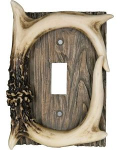 Rivers Edge Antler Switch Cover