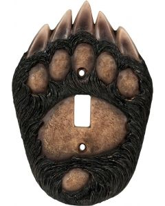 Rivers Edge Bear Paw Single Switch Cover
