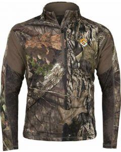 Scent Lok Baselayers Amp Midweight Top Realtree Edge Large