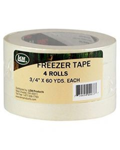 LEM Freezer Tape-4 Pack 60 Yds