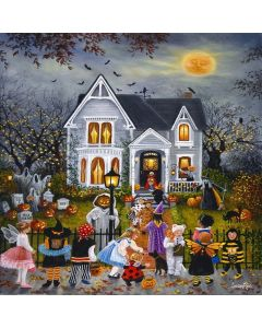 SunsOut Puzzle - Scary Night