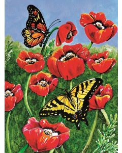 SunsOut Monarch and Swallowtail Puzzle