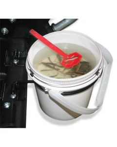 Clam Bait Well with 1/2 Gal. Bucket & Sled Bracket