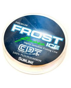 Clam Frost Ice Fluoro Metered 1# 50yd.Chartreuse/Clear