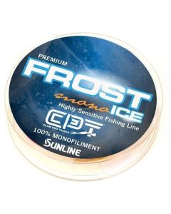 Clam Frost Ice Mono Metered 1# 110yd. Orange/ Clear