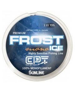 Clam Frost Ice Mono Metered 8#110yd. Orange/Clear