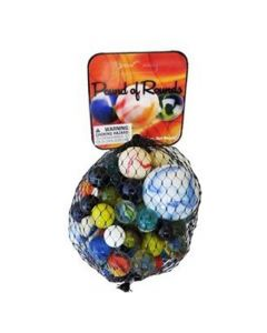 Play Visions Pound of Rounds Marble Net
