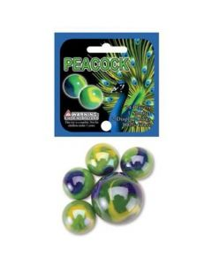 Play Visions Peacock Marble Net