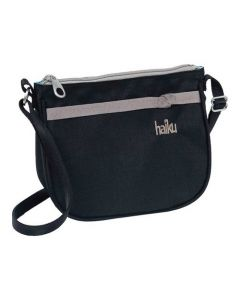 Haiku Lark Crossbody Black Morel OS
