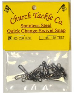 Church Tackle Quick Change Swivel #2