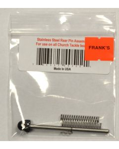 Church Tackle SS Rear Pin Assembly