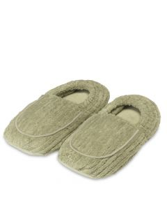 Warmies Slippers Spa Green