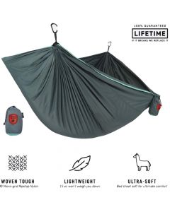 Grand Trunk Trunk Tech Single Hammock Teal/Turquoise OS