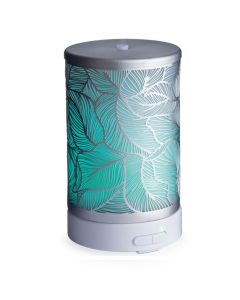 Candle Warmers Silverleaf Essential Oil Diffuser