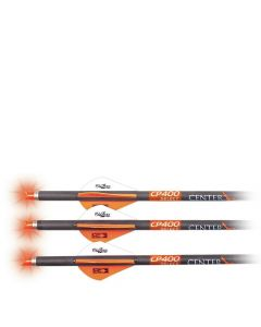 CenterPoint CP400 Select Carbon Arrow with Lighted Nock, 3 Pack