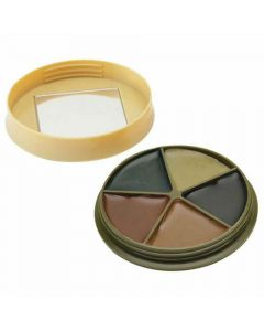 HME Products 5 Color Face Paint Kit with Mirror