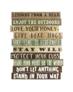 Young's Wood Lessons from a Bear Sign