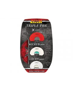 Zink Calls Triple Pack Turkey Mouth Calls