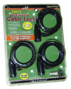 HME Treestand Cable Lock-3pk
