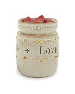 Candle Warmers Live Love Laugh Illumination Fragrance Warmer