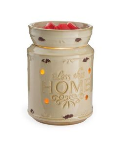 Candle Warmers Bless This Home Illumination Fragrance Warmer
