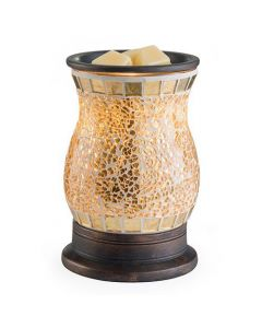 Candle Warmers Gilded Glass Illumination Fragrance Warmer
