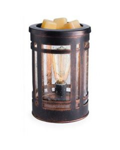 Candle Warmers Mission Style Edison Bulb Illumination Warmer