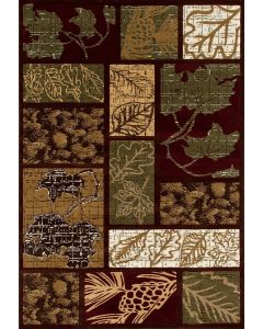 Art Carpet Area Rug Olympic Forest Green 5.3x7.7