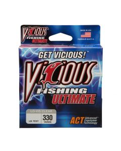 Vicious Fishing Line Ultimate Clear 12# 330Yds.