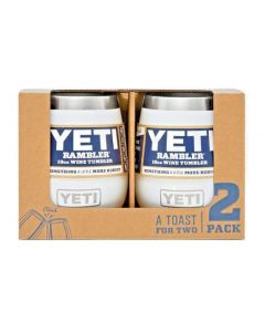 Yeti Wine Tumbler 10 oz White 2pk