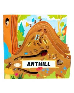 Wellspring Anthill Layered Board Book