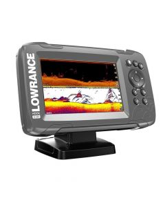 Lowrance HOOK 5 with SplitShot Transducer and US / Canada Nav+ Maps