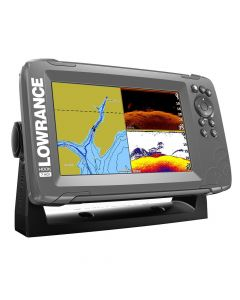 Lowrance HOOK 7 with SplitShot Transducer and US / Canada Nav+ Maps