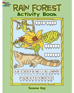Dover Publications Rain Forest Activity Book