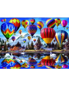 SunsOut Hot Air Balloons Puzzle