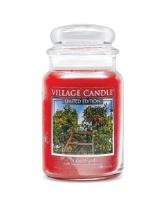Village Candle Large Jar Scented Candle - Apple Wood