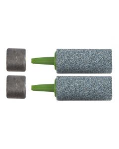 Marine Metal Glass Bead Airstones - Weighted - (Pair)