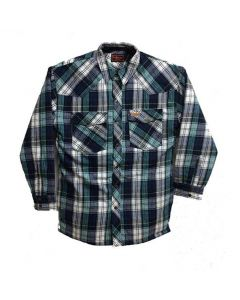 Five Brother Quilt Lined Snap 9oz Flannel Jacket Tall