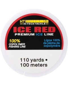 HT Enterprises Ice Red Fishing Line 116 Yds.