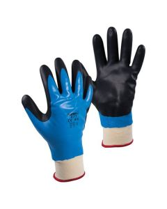 Showa Best Glove NBR Cold Resistant Glove, Blue