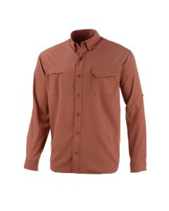 Huk Tide Point Solid Long Sleeve Shirt